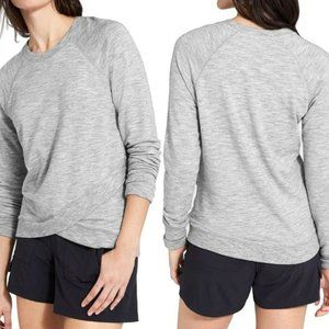 Athleta Criss Cross Sweatshirt Long Sleeve HW8433